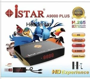 Details about New istar A9000 PLUS 4G 12 Months Guarantee Free 2300  channels Multi Stream