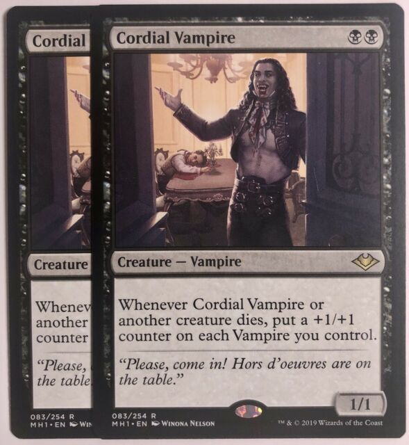 Cordiale Vampire x1 MTG 1x Modern Horizons MTG Card