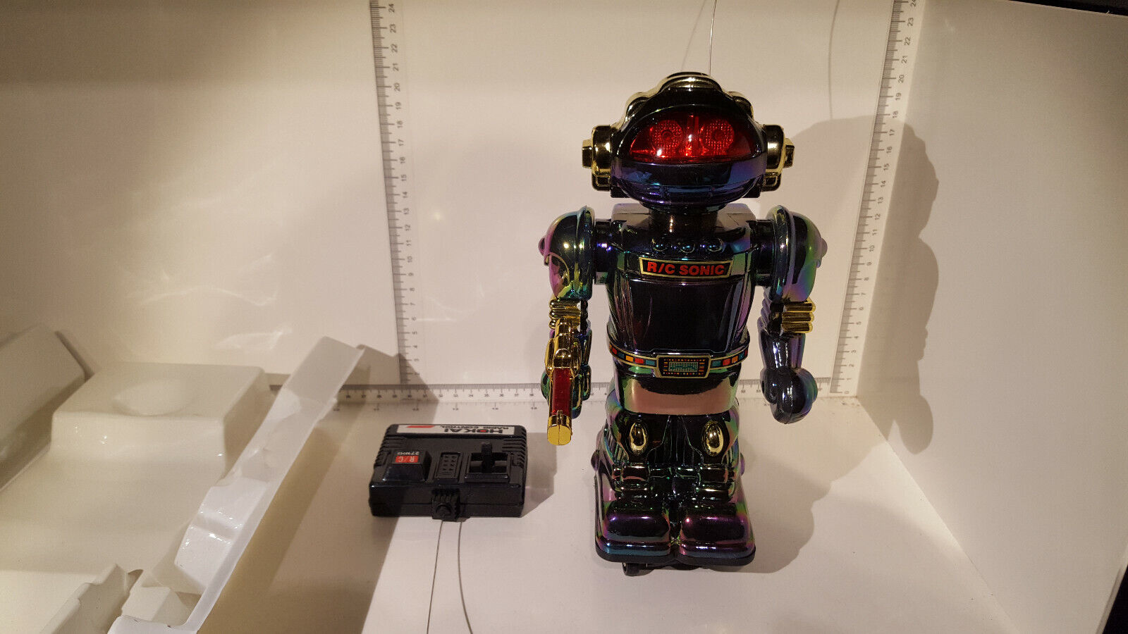 (LOTTO 318)  HO-Kai giocattoli HK-337 Sonic Vintage Radio Controllato Robot  fabbrica diretta
