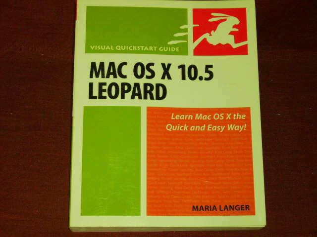 Maria Langer Mac OS X 10.5 Leopard