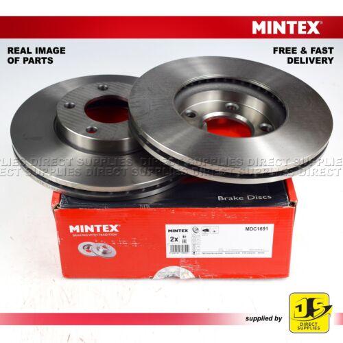 2X Mintex Disque de freins Avant Mazda 3 Bk Bl 5 CR19 CW PREMACY CP NISSAN LAFESTA