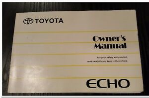 Toyota-Echo-Hatch-Owners-Book-Manual-Handbook-1999-2000-2001-2002-2003-2004-2005
