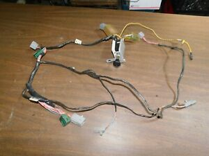 1982 mustang gt 5.0 radio & amplifier harness wiring   ebay  ebay