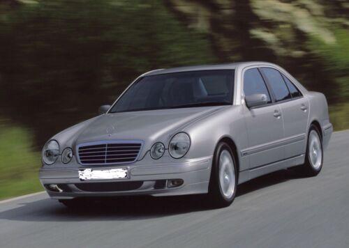 189 lackiert 99-02 Mercedes W210 E Klasse Kotflügel rechts Smaragdschwarz Met