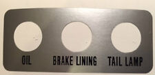YAMAHA TX750 CENTRE CONSOLE WARNING LAMP CLUSTER DECAL