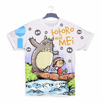 Totoro and Mei Calvin hobbes 3D Mens Womens Children Kids T-shirt Sizes S92
