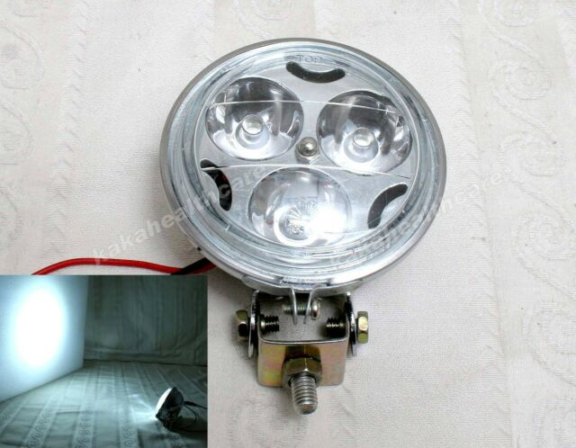 2X Motorcycle / Car DC12-48v Super Bright White LED Auxiliary Spot Light #234