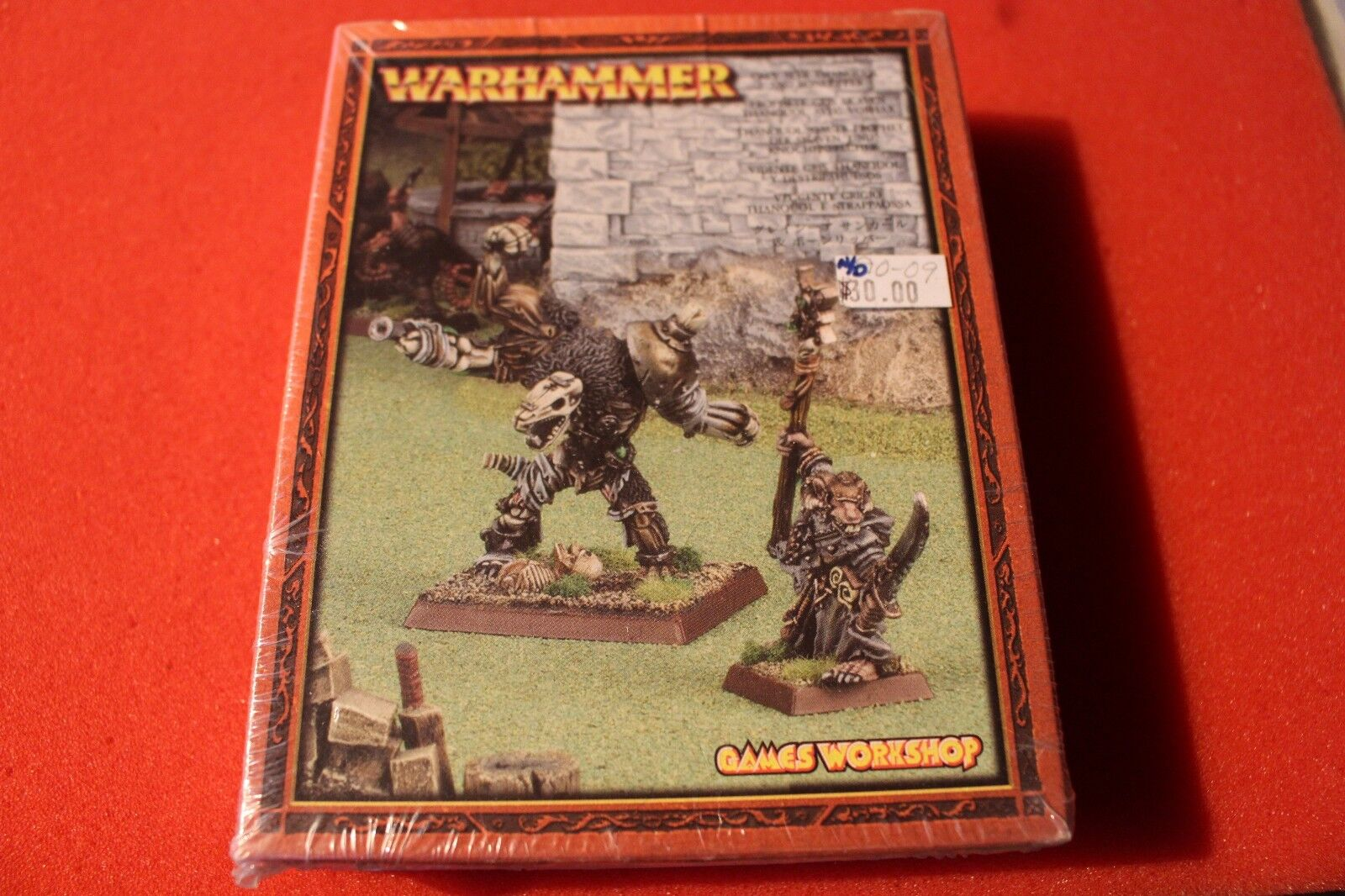 Games Workshop Warhammer Skaven Thanquol and Boneripper Grey Seer New BNIB Metal