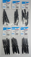 Gemfan Black 4 X 4.5 4045 Abs Quadcopter Propellers - 24 Props 12 Pair