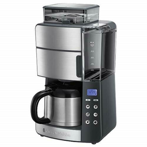 Russell Hobbs 25620-56 Grind & Brew Digital Thermo-Coffee Machine with Grinder