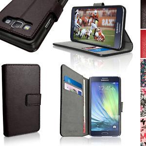 04b0b0844b7 La imagen se está cargando PU-Cuero-Funda-Cartera-para-Samsung-Galaxy-A3-