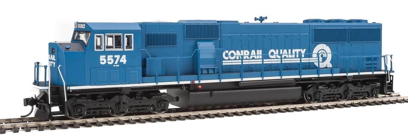 EMD SD60M con 2 piezas parabrisas con Soundtraxx (R) Conrail DCC y Sonido