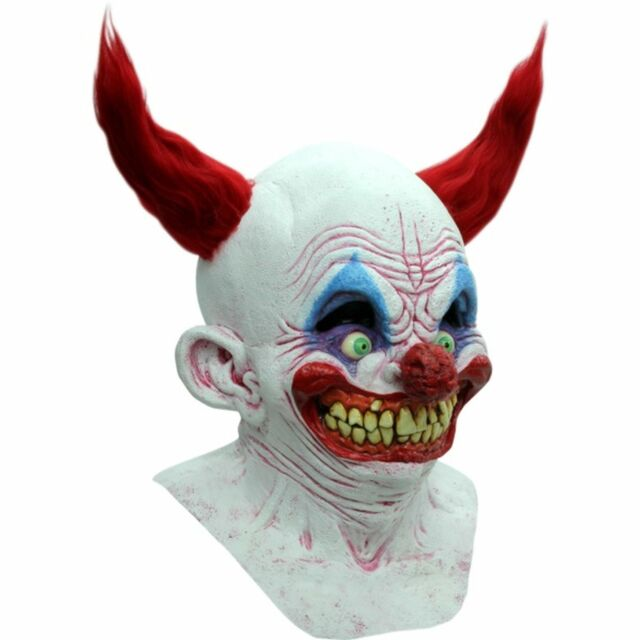 Chingo the Clown Latex Mask Evil Killer Klown Halloween Ghoulish Productions