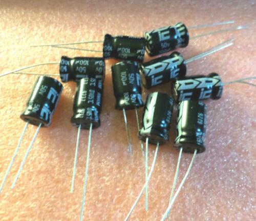 C9B5 330UF 50V Electrolytic Capacitor 105 °C New sealed Inventory 8Pcs