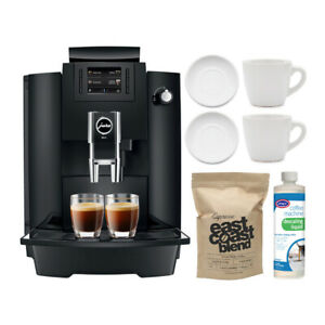 Jura 15343 WE6 Coffee and Espresso Center with Cup and Saucer Set Bundle