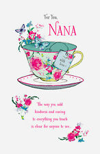 Grandma Granny Nan Nana Nannie Nanny Happy Birthday Card Greeting Cards