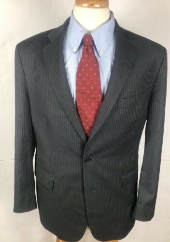 Brooks Brothers 1818 Madison Fit 42R Reda Wool Cha