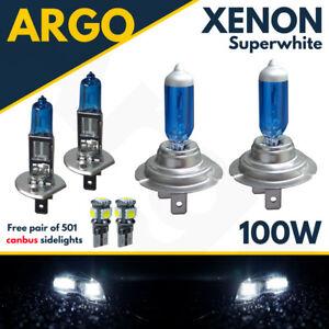 H7-T10-H1-100w-Super-White-Xenon-Upgrade-Head-Light-Bulbs-Set-Main-Dip-Beam-Led