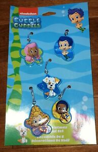 Kurt Adler Bubble Guppies Set of 5 Christmas Ornaments New ...