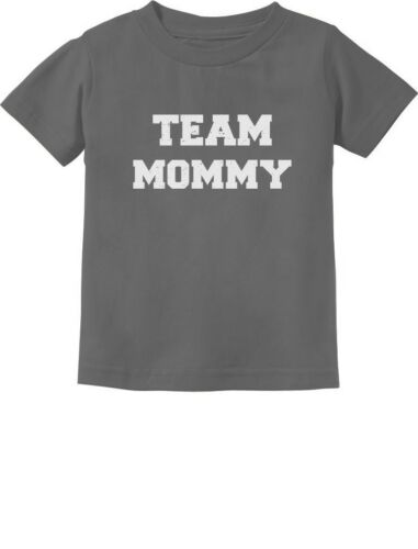 Team Mommy I/'m On Mommy/'s Team Mother/'s Day Gift Toddler Kids T-Shirt Gift for
