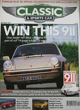Classic & Sportscar 10/2003 featuring Porsche Carrera RS 2.7,Triumph Stag, Mazda