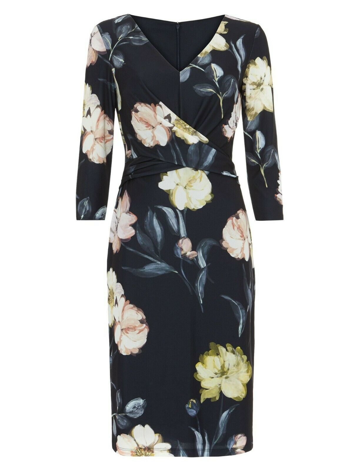 New Phase Eight Marina Navy Floral Dress Sz UK 8 8 8 | Verrückter Preis  | Sorgfältig ausgewählte Materialien  56ef52