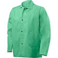 Steiner 9 Oz Flame Resistant Cotton Welding Jacket 30 Green Large 1030 L