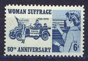 ESTADOS-UNIDOS-USA-1970-MNH-SC-1406-Woman-Suffrage