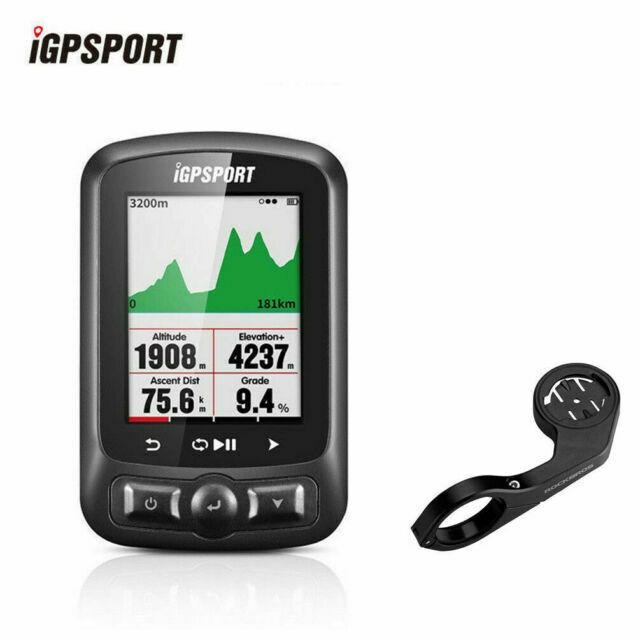 GPS Cycling Speedometer Bike Computer Black with Bracket IGPSPORT IGS618 ANT