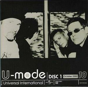 U2-Japan-PROMO-ONLY-various-artists-2-x-CD-U2-picture-sleeve-CARD-SLEEVE-Electri