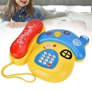 Baby-Toys-Cartoon-Phone-Educational-Developmental-Kid-Toy-Gift-with-Music-Light