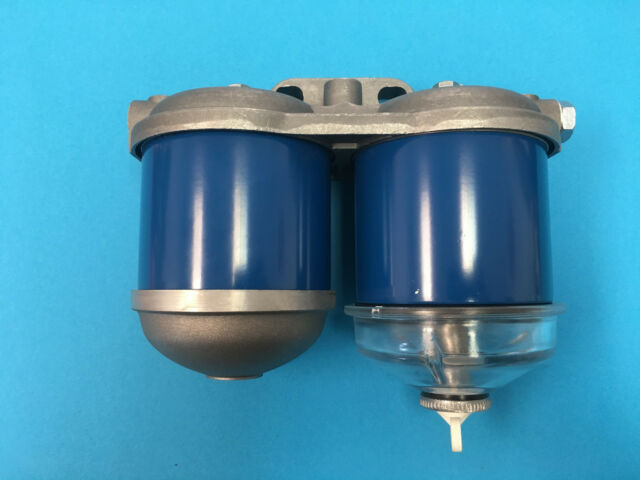 Ford Tractor Dual Fuel Filter Assembly D2NN9165C 5600 7000 7600 7700 7610  7710 for sale online   eBayeBay