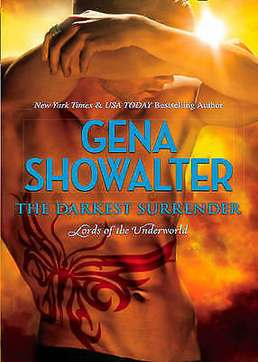 1 of 1 - Showalter, Gena, The Darkest Surrender (Lords of the Underworld), Very Good Book