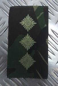Genuine-British-Army-Woodland-Camo-CAPTAIN-Rank-Slide-Epaulette-NEW