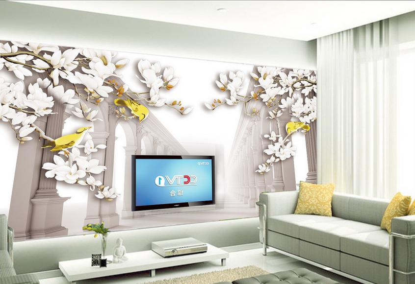 3D Wunderland Korridor 757 Tapete Wandgemälde Tapete Tapeten Bild Familie DE    Modernes Design    Niedriger Preis und gute Qualität    Good Design
