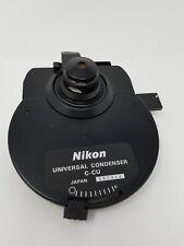 Nikon Microscope Universal Condenser C Cu