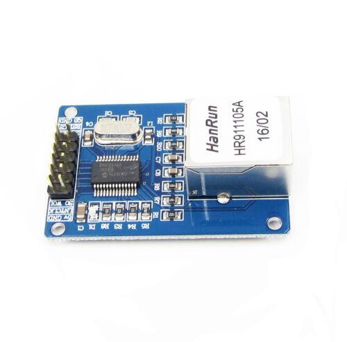 New ENC28J60 Ethernet LAN Network Module For Arduino SPI AVR PIC LPC STM32 L1ST
