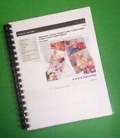 Color Printed Sony Digital Hd Handycam Pj260v Xr260v Manual User Guide 257 Pages