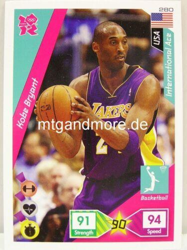 ADRENALYN xl Londres 2012 #280 Kobe Bryant-International Ace usa