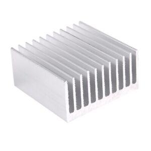 Silver-Tone-Aluminum-Cooler-Radiator-Heat-Sink-Heatsink-40x40x20mm-Y4U7