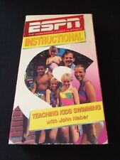 Rare VHS Video: Teaching Kids Swimming with John Naber ESPN Instructional