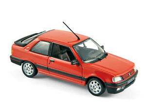 Norev-1-43-473908-Peugeot-309-GTI-1987-Vallelunga-Red-NEW