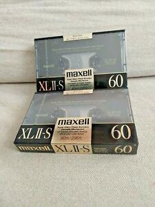 2-MAXELL-XLII-2-S-Chrome-Cassette-Audio-tape-MC-type-2-60-minutes