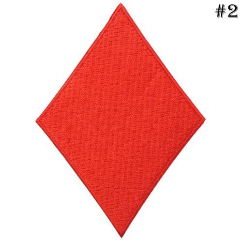 Heart Diamond clubs pique cartes à jouer casino jeu poker iron on patches #4