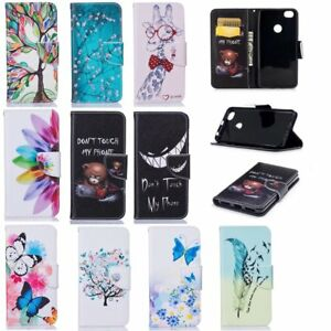 new styles 1c3b5 a9c2a Details about For Xiaomi Redmi NOTE 5A Models Premium Leather Magnetic Flip  Wallet Case Cover
