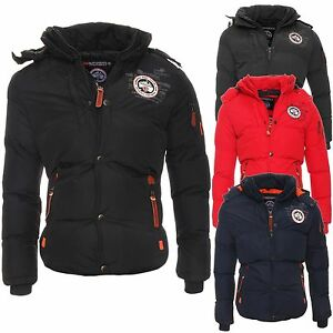 Geographical norway herren winterjacke venise