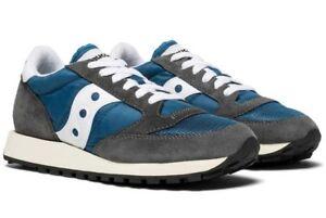 SAUCONY-JAZZ-ORIGINAL-VINTAGE-scarpe-uomo-sneakers-pelle-camoscio-tela-sportive
