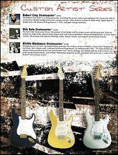 Fender Stratocaster Robert Cray Strat OUTPUT JACK /& Screws Chrome Guitar