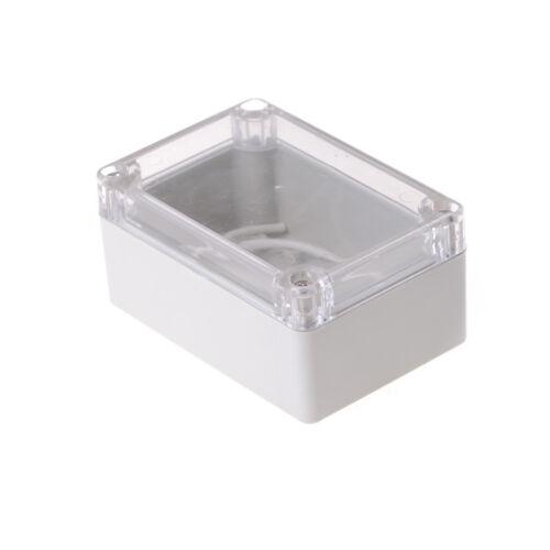 100x68x50mm impermeable cubierta clara proyecto electrónico caja gabin G2