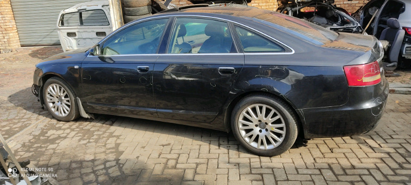 Stripping Audi A6 Car Spare parts